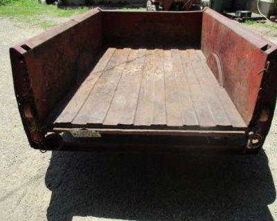 Studebaker Truck Box 1950's Solid Original , Hot Rat Rod Chevy Ford Gmc Dodge