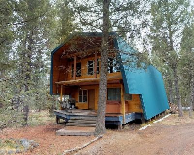 HICKORY INN HOT TUB QUIET WOODED AREA 35MIN TO YELLOWSTONE FREE WIFI BBQ GRILL CLOSE TO TRAILS - Island Park
