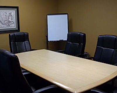 Private Meeting Room for 6 at Office Alternatives (Journal Center location)