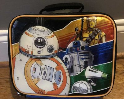 Soft Star Wars Lunchbox with R2D2 and C3PO
