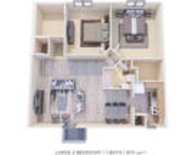 Curren Terrace Apartment Homes - 2 Bedroom with Den