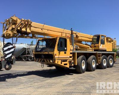 1991 Krupp KMK4070 Hydraulic Truck Crane
