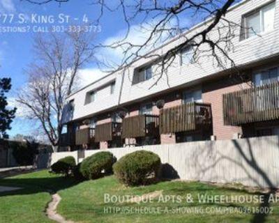 5777 S King St #4, Littleton, CO 80123 2 Bedroom Apartment