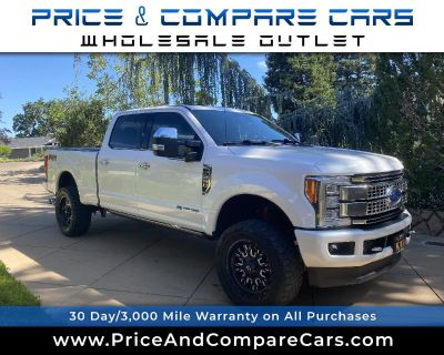 Used 2017 Ford Super Duty F-250 SRW PLATINUM 4WD CREW CAB FX4 PANO ROOF 4INCH LIFT WH