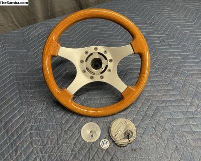 Rosewood Formuling France Steering Wheel