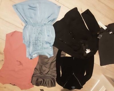 Lot of xs/small clothing