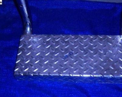 aluminum bolt on step