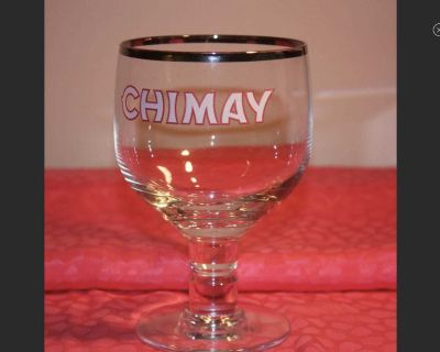 ISO. Chimay Beer Glass.