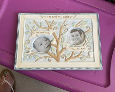 Me and my daddy picture frame