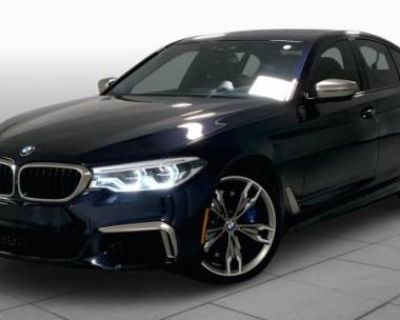 2019 BMW 5 Series M550i