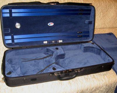 Double case, violin and viola.