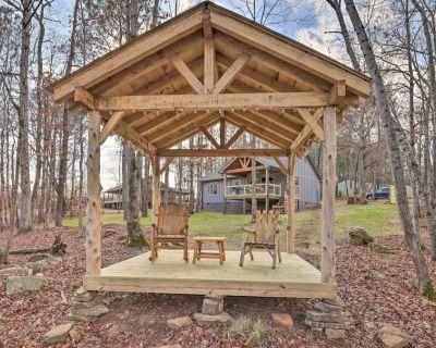 NEW! Creek-View Getaway w/ Deck, Yard + Fire Pit! - Summerville