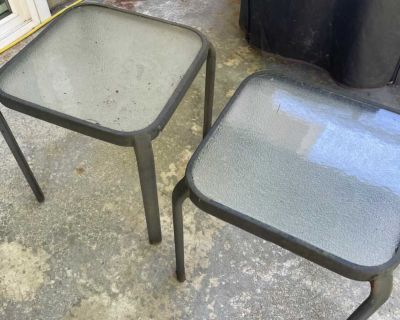 FREE Patio Side Tables