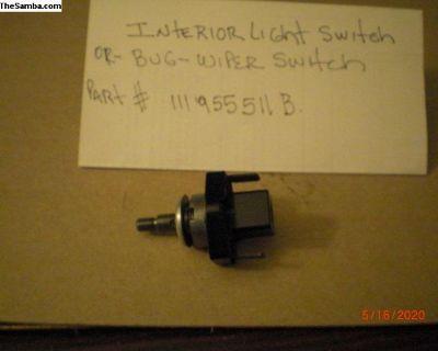 wiper switch