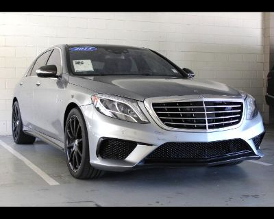 Used 2015 Mercedes-Benz S-Class S63 AMG 4MATIC