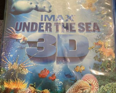 IMAX under the sea 3D blu ray