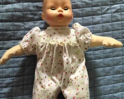 Madame Alexander doll with soft body and working eyes