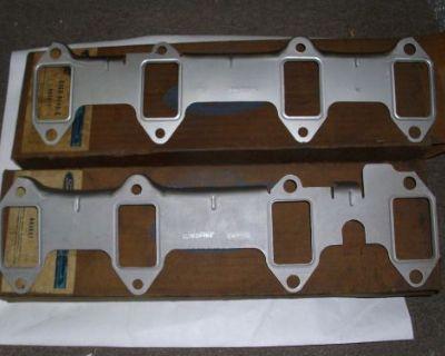 Nos 1961 62 63 64 65 Ford Thunderbird 390 Exhaust Manifold Gaskets Pair
