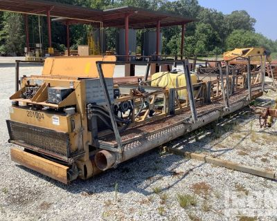 2007 Allen TRTP225 Ride-On Triple Roller Tube Concrete Paver