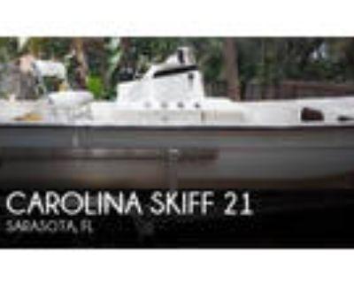 21 foot Carolina Skiff 21