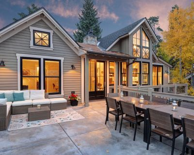 New Home In Historic District, With Mountain Modern Decor - Historic District