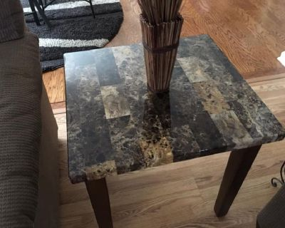 Coffee Table and Two End Tables-Set of Three