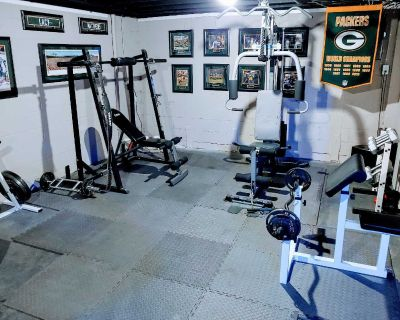 Olympic Weight Room set - everything included