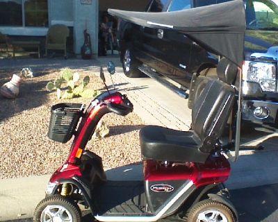 PRIDE PURSUIT XL MOBILITY SCOOTER