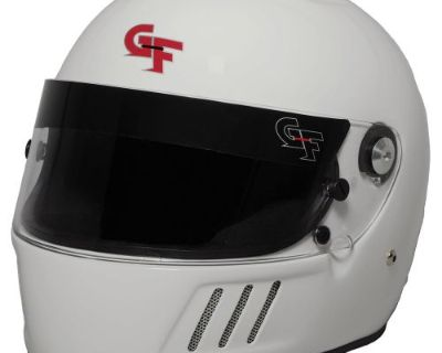 G-force 3123lrgwh Gf3 Race Helmet Full Face Large White Sa2015