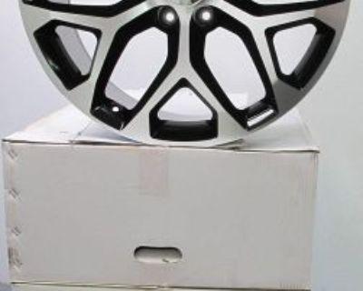 "22"" Gmc Yukon Sierra Chevrolet Escalade Factory Style Machined/black Wheels 5668"