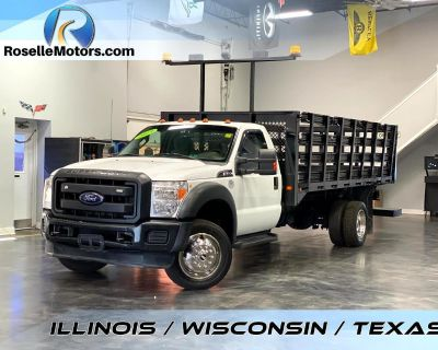 2013 Ford F-450 Stake Bed CLASS 4 (GVW 14001 - 16000)