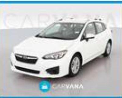 2018 Subaru Impreza White, 36K miles