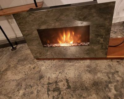 Electric Hanging fireplace