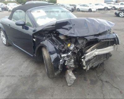 Salvage Blue 2004 Audi Tt