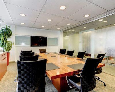Boardroom in Maryland's Premier Market, Bethesda, MD