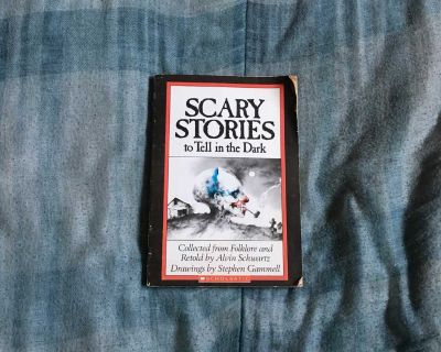 Vintage Scary Stories To Tell In The Dark Book 1981