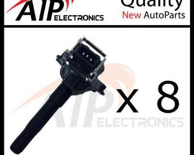New Ignition Coil On Plug Pencil 3 Prong **v4 V6 V8 **set Of 8