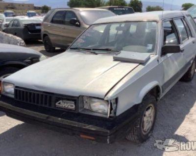 1984 Toyota Tercel Wagon