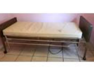 Hospital Bed - Invacare Semi-Electric with Mattress