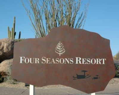 Four Seasons Scottsdale Two Bedroom March 7 - 14, 2021 $4,195 - Troon North