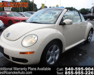 2006 Volkswagen New Beetle Convertible 2dr 2.5L Manual