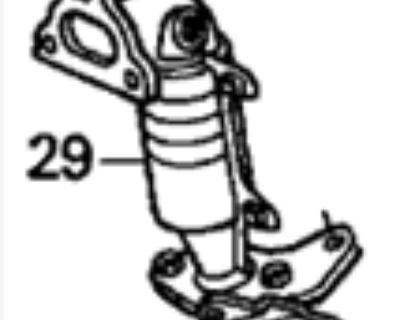 I desperately need a front/top catalytic converter.