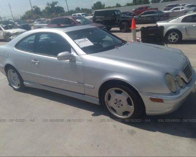 Salvage Silver 2001 Mercedes-benz Clk-class