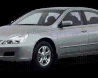 2007 Honda Accord LX Special Edition Sedan I4 Automatic