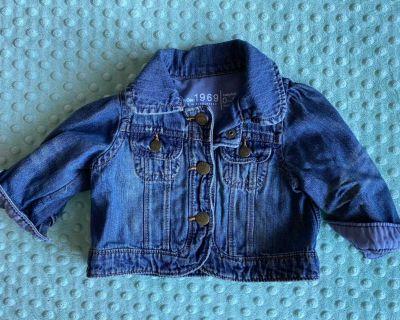 0-6m Baby Gap jean jacket