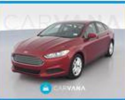 2014 Ford Fusion Red, 16K miles