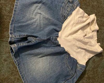 XL Motherhood Denim Shorts