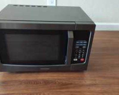 Barely used microwave