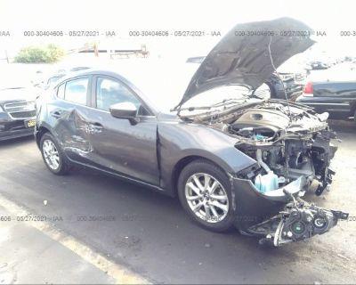 Salvage Gray 2016 Mazda Mazda3