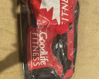 GoodLife Fitness Gym Bag and Small T Shirt Never Used